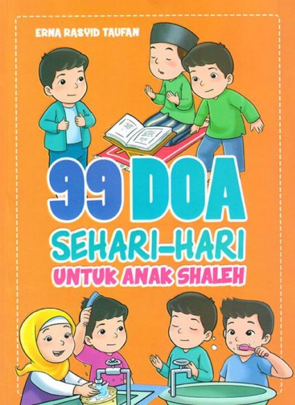 Cover Buku 99 Doa Sehari-hari Untuk Anak Shaleh