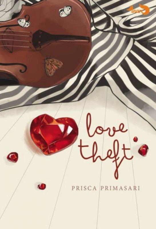 Cover Buku Love Theft [Edisi TTD + Free Key chain]