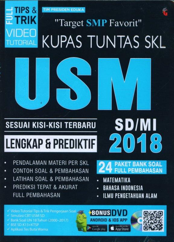 Cover Buku Kupas Tuntas SKL USM SD/MI 2018