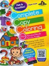 Complete Copy Coloring Plus Aktivitas Menulis Huruf & Angka
