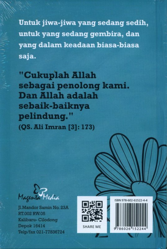 Cover Belakang Buku #Cukup Allah Saja