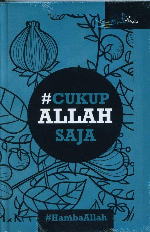 Cover Buku #Cukup Allah Saja