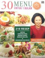 30 Menu untuk 1 Bulan: 210 Resep Sarapan Pagi, Makan Siang, Makan Malam & Hidangan Selingan