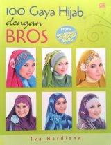 100 gaya hijab dengan bros (Disc 50%)