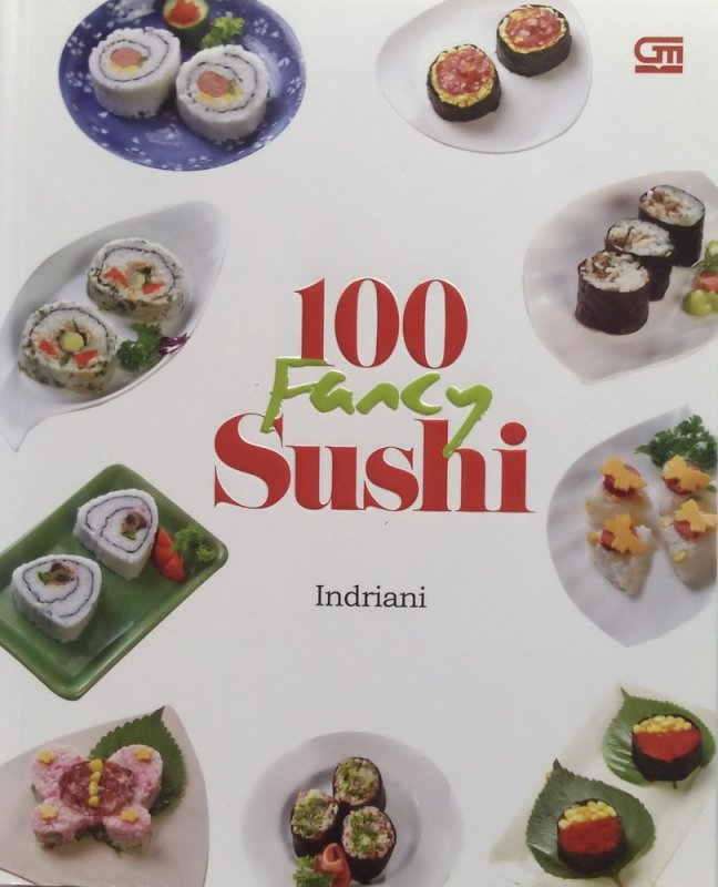 Cover Buku 100 Fancy Sushi