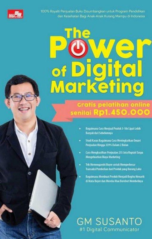 Cover Buku The Power of Digital Marketing