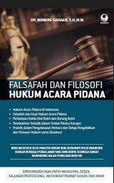Falsafah dan Filosofi Hukum Acara Pidana