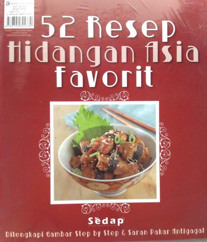 Cover Buku 52 Resep Hidangan Asia Favorit (Disc 50%)