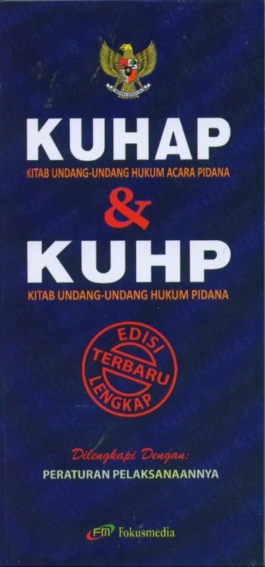 Cover Buku KUHAP & KUHP Edisi Lengkap