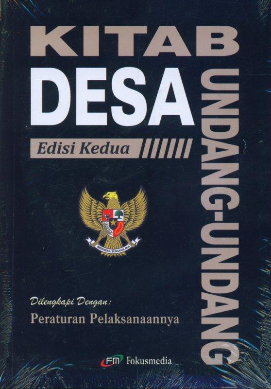Cover Buku Kitab Undang-Undang Desa Edisi Kedua