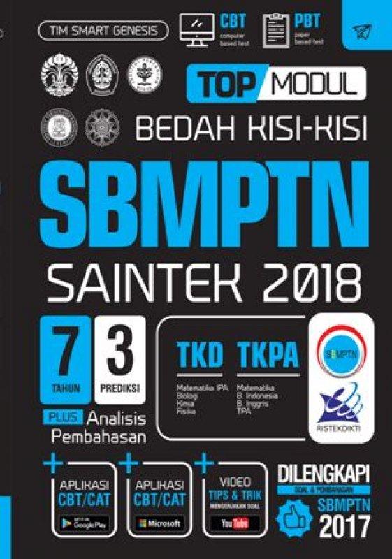 Cover Buku TOP MODUL BEDAH KISI-KISI SBMPTN SAINTEK 2018