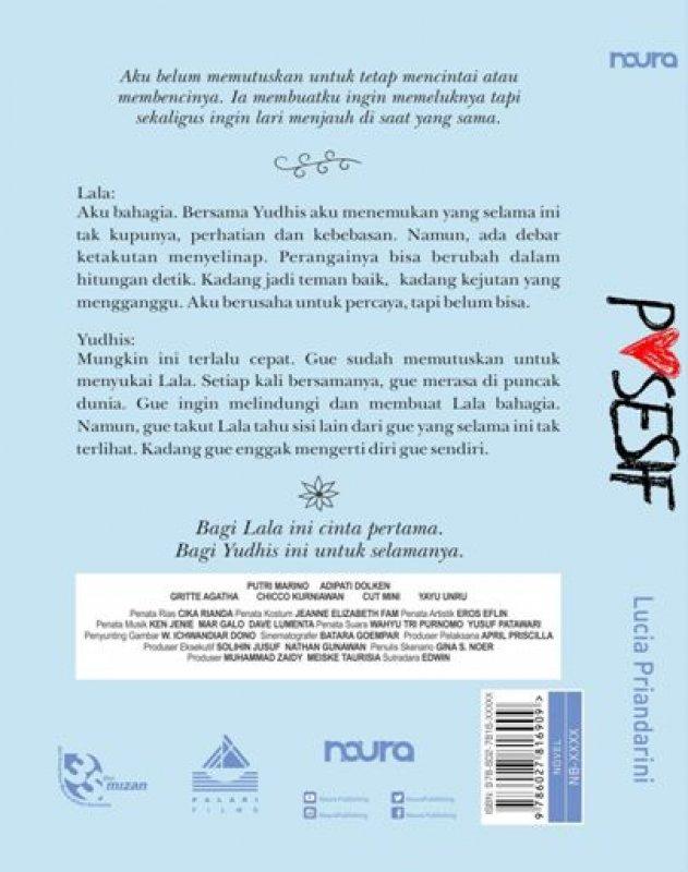 Cover Belakang Buku POSESIF
