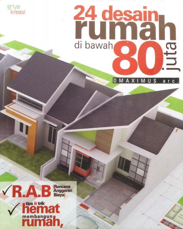 Cover Buku 24 Desain Rumah di Bawah 80 Juta (Disc 50%)