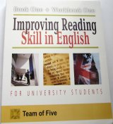 Improving Reading Skill in English for University Students (Book One + Workbook One)