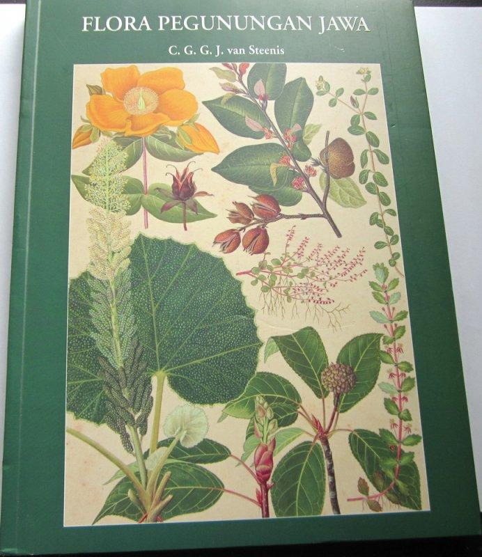 Cover Buku Flora Pegunungan Jawa (full color)