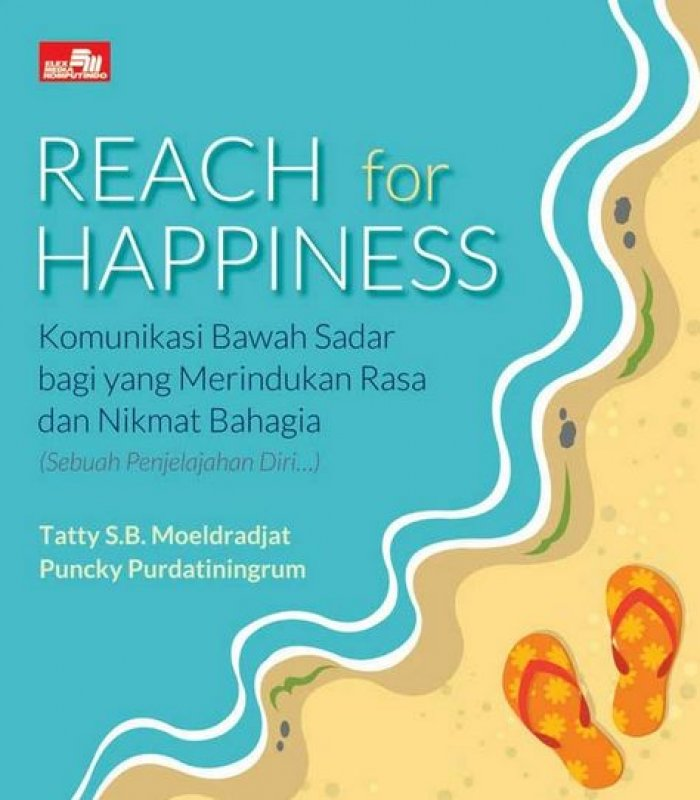 Cover Buku REACH FOR HAPPINESS