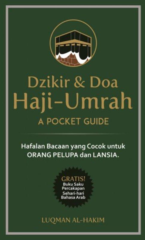Cover Buku Dzikir & Doa Haji-Umrah : A Pocket Guide