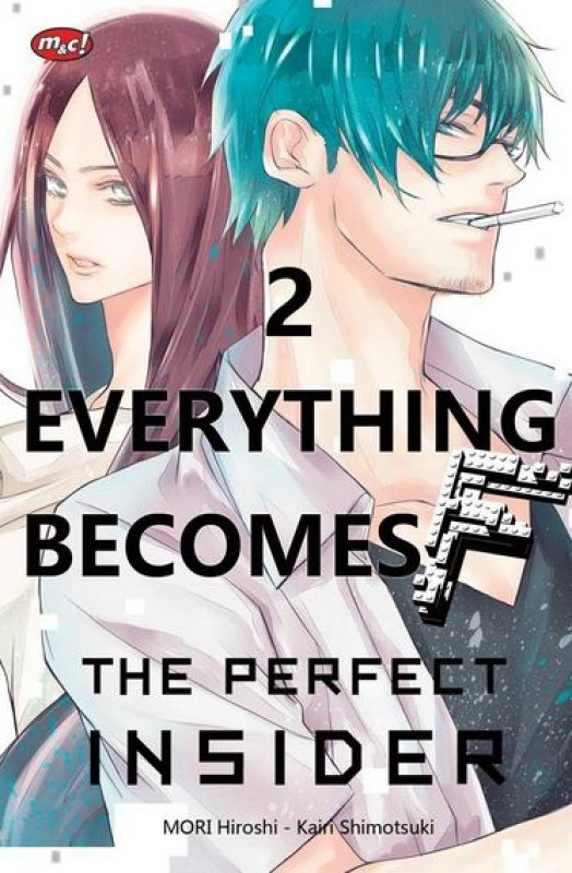Cover Buku Everything Becomes F : The Perfect Insider 02 - Tamat