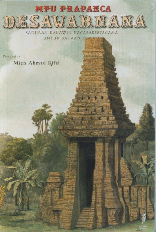 Cover Buku Desawarnana (Saduran Kakawin Nagarakertagama Untuk Bacaan Remaja)