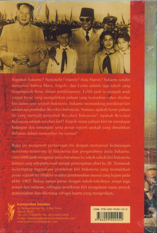 Cover Belakang Buku Sukarno Marxisme & Leninisme