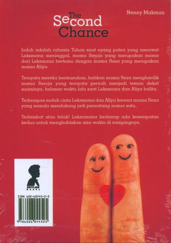 Cover Belakang Buku The Second Chance