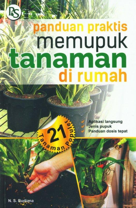 Cover Buku Panduan Praktis Memupuk Tanaman di Rumah