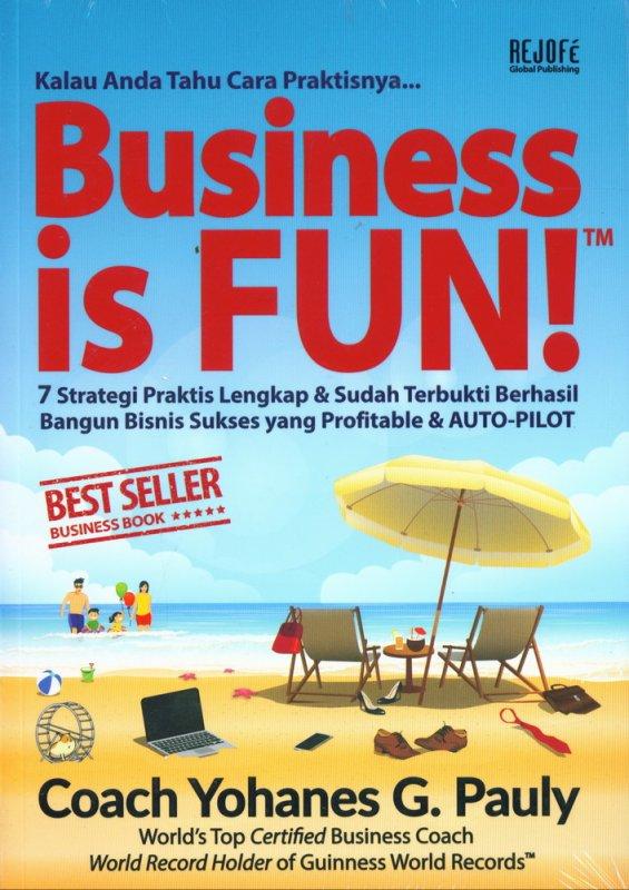Cover Buku Business is Fun