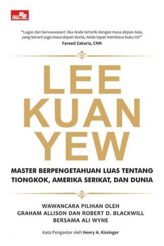Cover Buku Lee Kuan Yew