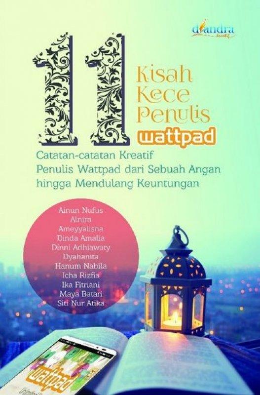 Cover Buku 11 Kisah Kece Penulis Wattpad