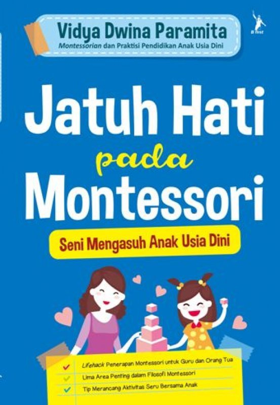Cover Buku Jatuh Hati pada Montessori