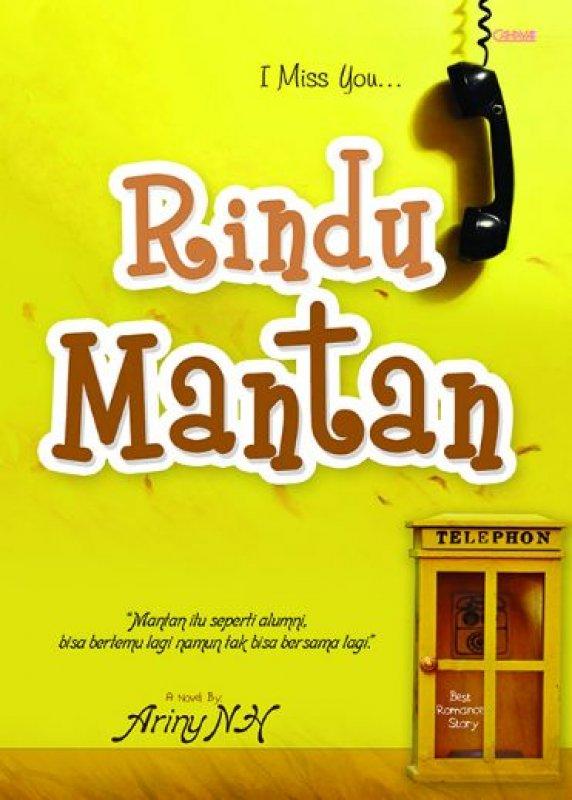 Cover Buku Rindu Mantan