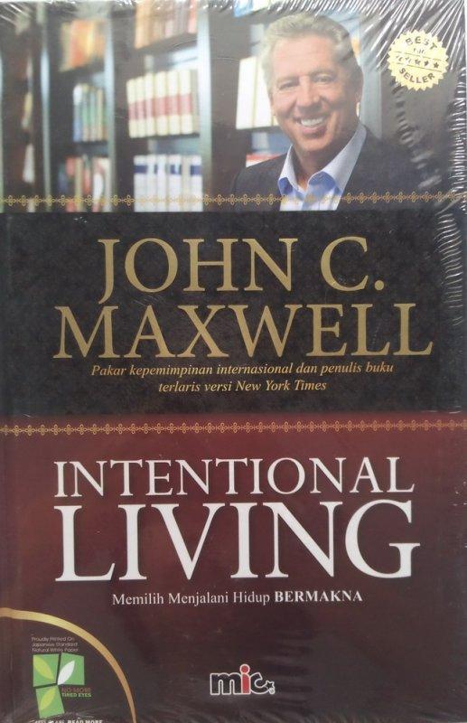 Cover Buku Intentional Living (HC) (Disc 50%)