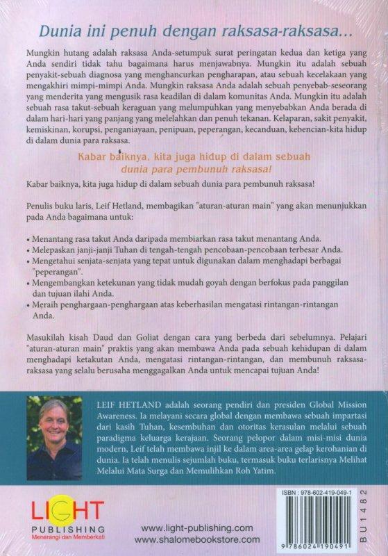 Cover Belakang Buku Pembunuh Raksasa
