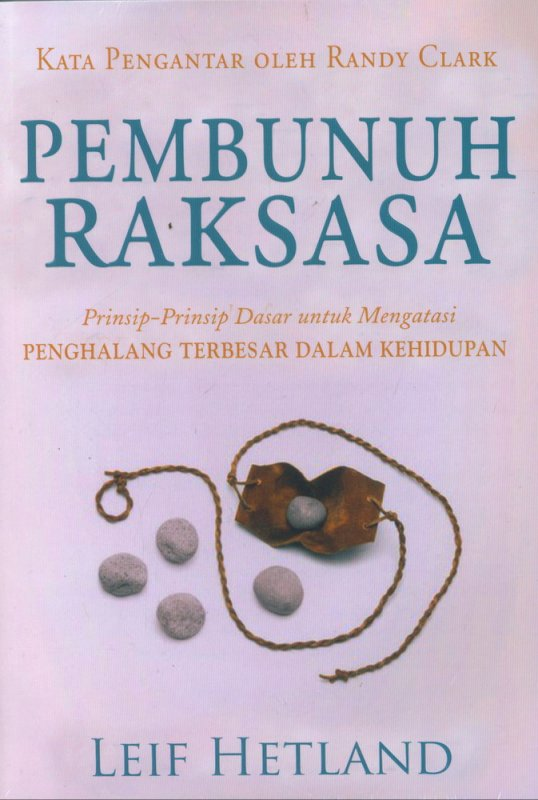 Cover Buku Pembunuh Raksasa