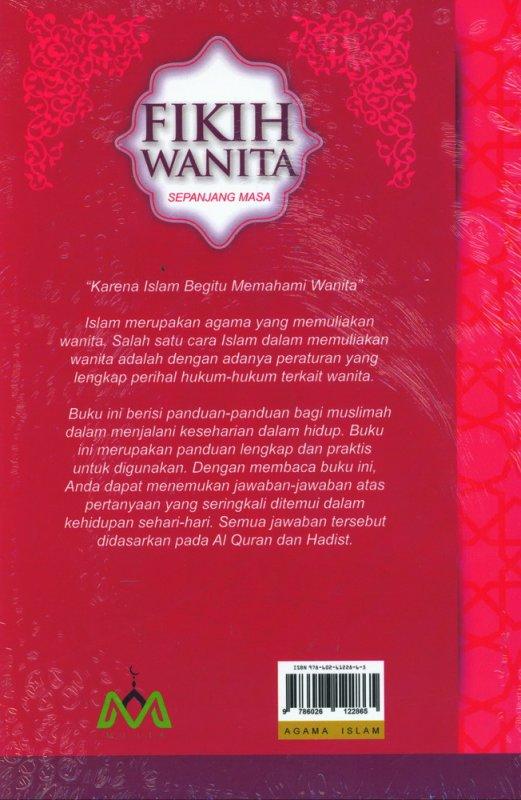 Cover Belakang Buku Fikih Wanita Sepanjang Masa