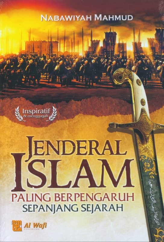Cover Buku Jenderal Islam Paling Berpengaruh Sepanjang Sejarah