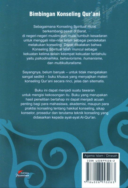 Cover Belakang Buku Bimbingan Konseling Qurani Jilid 2
