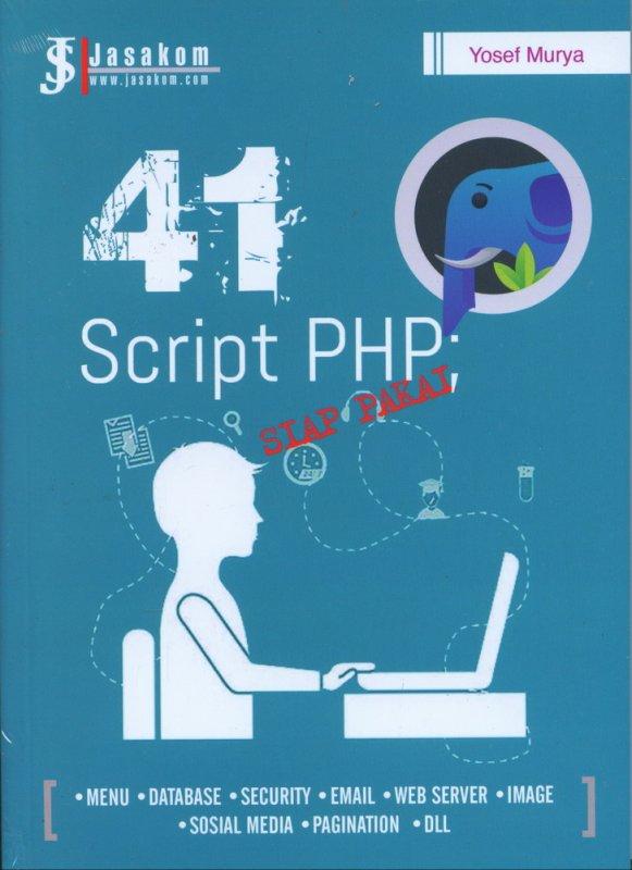 Cover Buku 41 Script PHP Siap Pakai