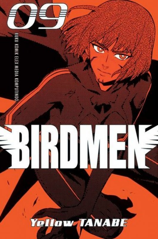 Cover Buku Birdmen 09