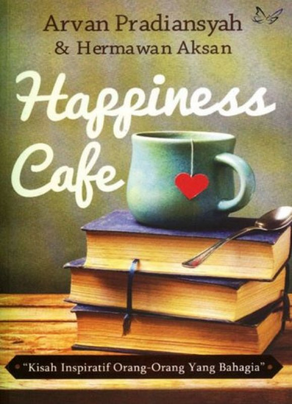 Cover Buku HAPPINESS CAFE