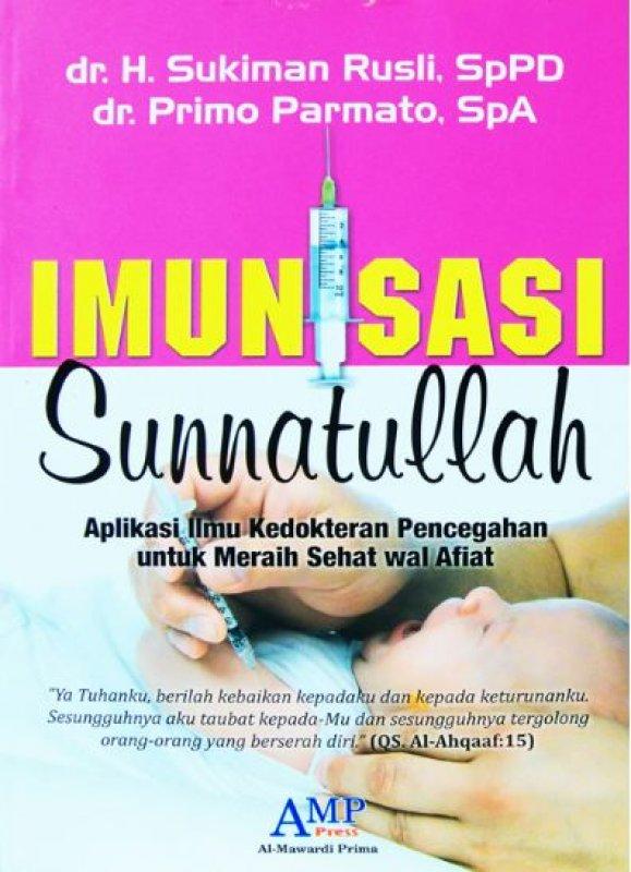 Cover Buku IMUNISASI SUNNATULLAH
