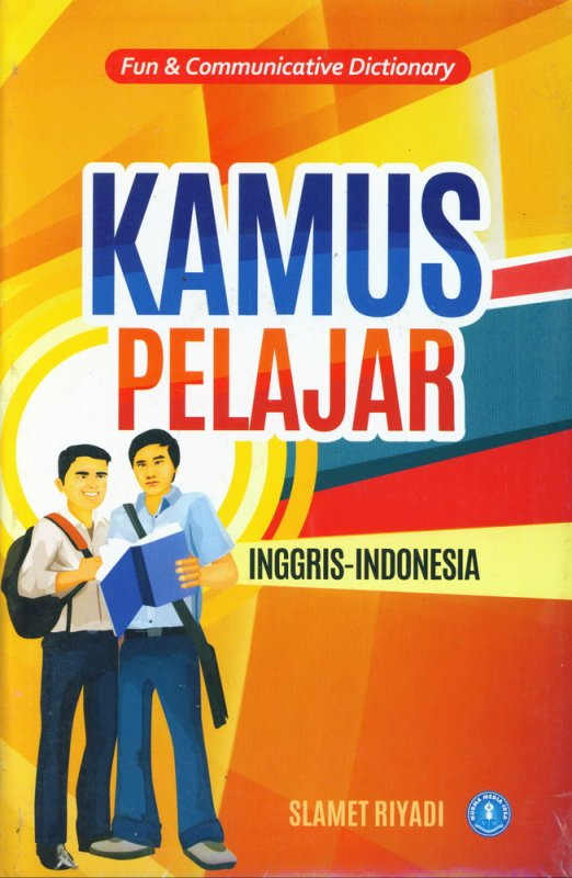 Cover Buku Kamus Pelajar Inggris-Indonesia (Fun & Communicative Dictionary) cover baru