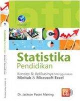Statistika Pendidikan, Konsep Dan Penerapannya Menggunakan Minitab Dan Microsoft Excel+ cd