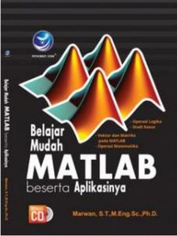 Cover Buku Belajar Mudah Matlab Beserta Aplikasinya+cd