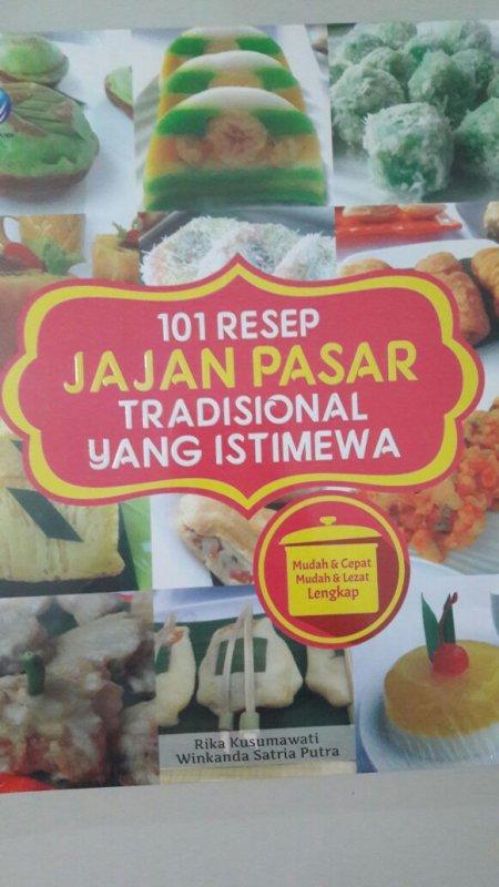 Cover Buku 101 Resep Jajan Pasar Tradisional Yang Istimewa