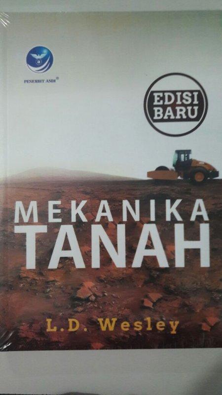 Cover Buku Mekanika Tanah Edisi Baru