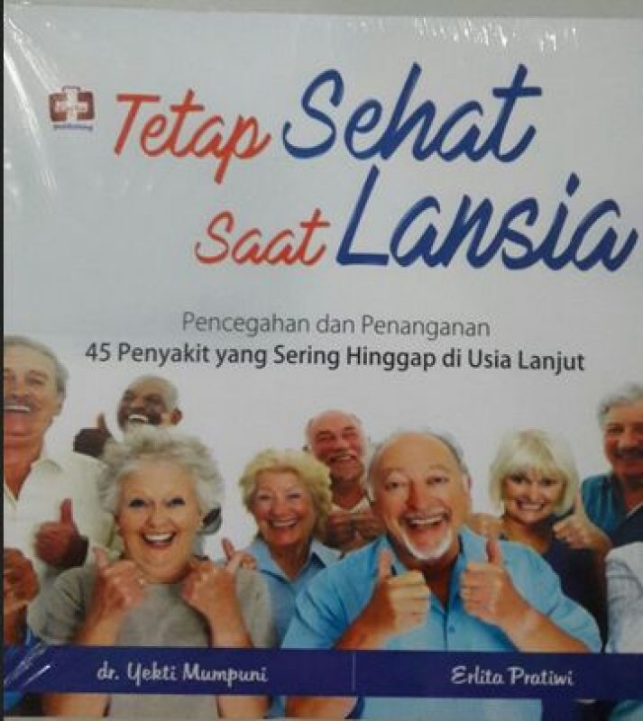 Cover Buku Tetap Sehat Saat Lansia