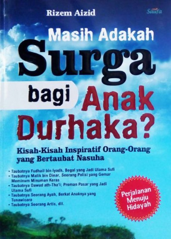 Cover Buku MASIH ADAKAH SURGA BAGI ANAK DURHAKA?