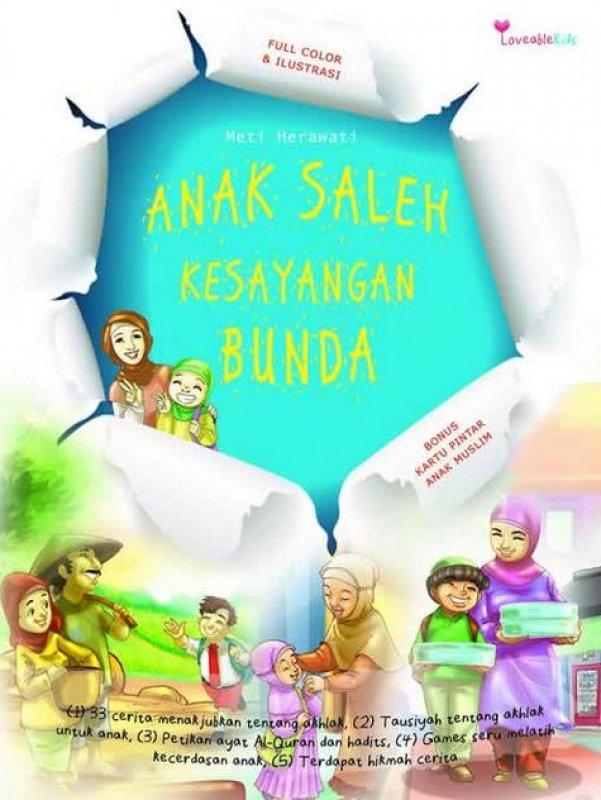 Cover Buku Anak Saleh Kesayangan Bunda [Pengabdi Diskon 35%]