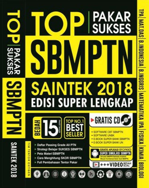 Cover Buku PAKAR SUKSES TOP SBMPTN SAINTEK 2018